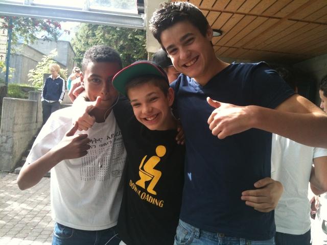 Im Berner Feriensportlager sieht man lauter glückliche Gesichter. Die Berner Modis und Giele freuen sich schon jetzt aufs nächste Lager 2013.